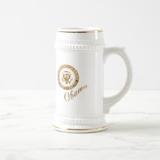 Commander in Chief, President Barack Obama Beer Stein