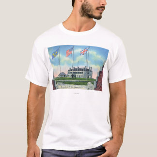 Commanding Officer Room in Old French Castle T-Shirt