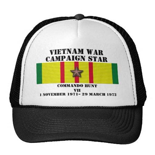 Commando Hunt VII Campaign Trucker Hats