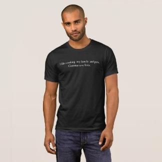 Commas save lives! (Dark) T-Shirt