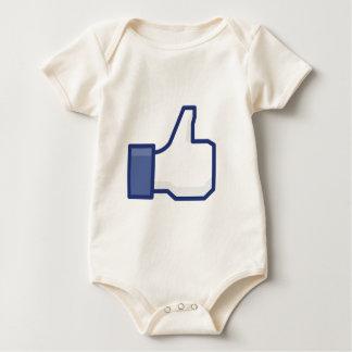 Comme la main bodies pour bébé