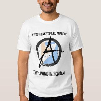 Comme l'anarchie ? Essai Somalie T Shirt
