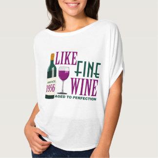 COMME LE VIN fin âgé au cru 1956 de PERFECTION T-shirts