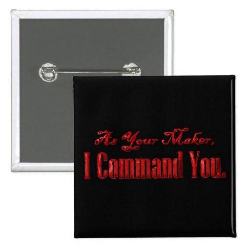 Comme votre commande du fabricant I vous Badge