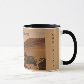 Commemorating Launch Of Curiosity Mars Rover Mug