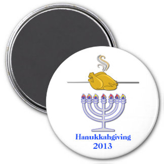 Commemorative Hanukkahgiving Magnet