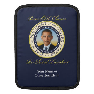 Commemorative President Barack Obama Re-Election iPad Sleeve