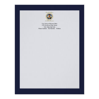 Commemorative President Barack Obama Re-Election Letterhead