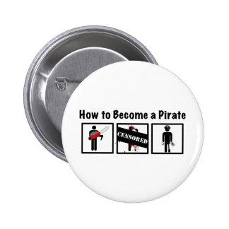 Comment devenir un pirate badges avec agrafe