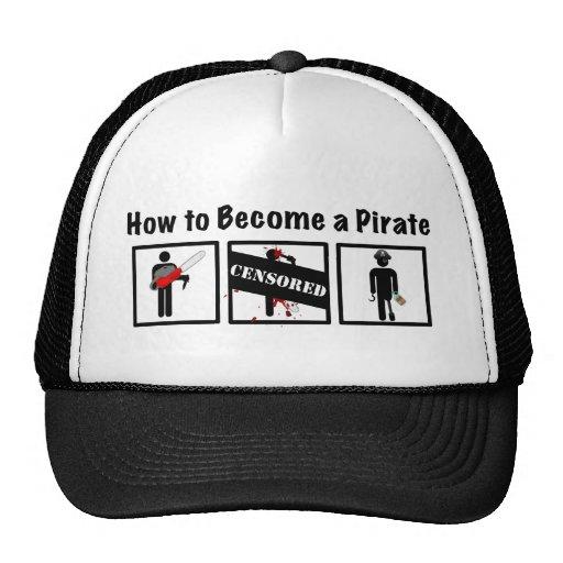 Comment devenir un pirate casquettes de camionneur