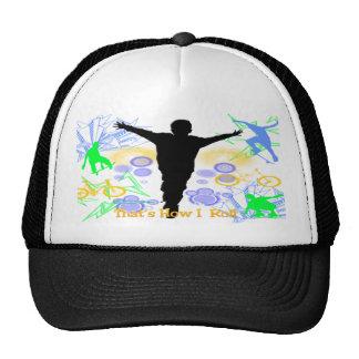 Comment je roule le chapeau (de garçons de Tween) Casquettes De Camionneur