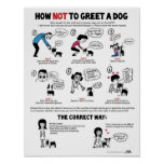"""Comment saluer une affiche de chien (11 x 14"""") -"""