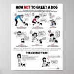 """Comment saluer une affiche de chien (11 x 14"""") - p"""