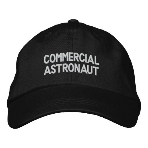 Commercial Astronaut Embroidered Hat