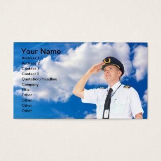 Commercial Pilot Business Card