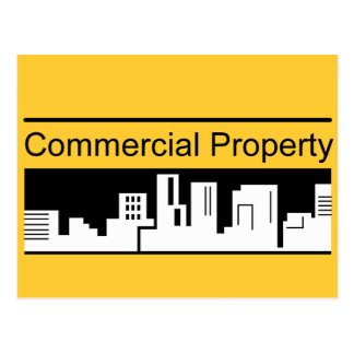 Commercial Property Postcard