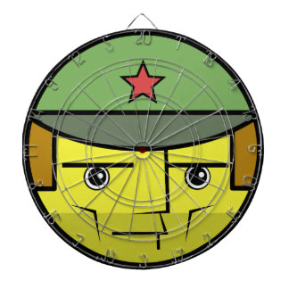 Commie Face Dartboard