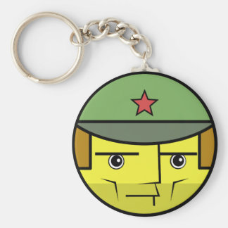 Commie Face Keychain