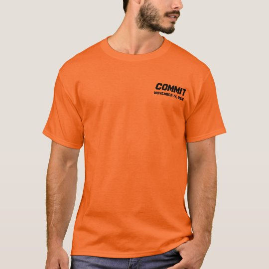 COMMIT, November 14, 2010 T-Shirt
