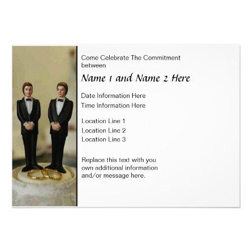 Commitment Ceremony Invite