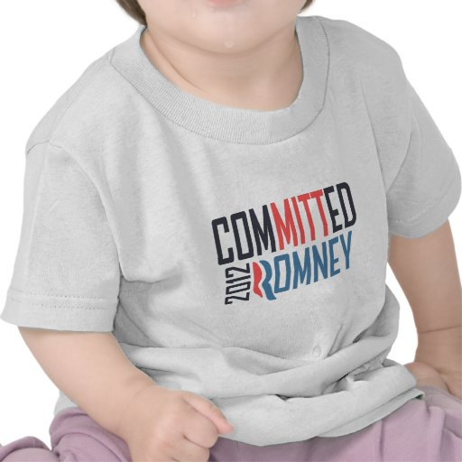 Committed Romney Tshirts
