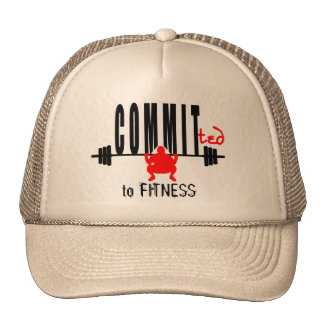 Committed to FITNESS Trucker Hat