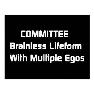 Committee Humor Postcard