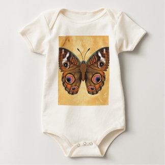 Common Buckeye Butterfly Baby Bodysuit