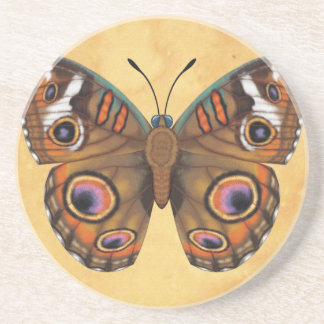 Common Buckeye Butterfly Coaster