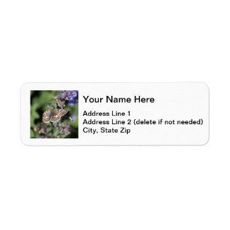 Common Checkered Skipper Return Address Label
