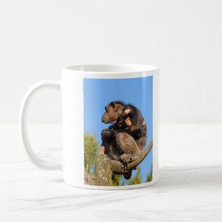 Common Chimpanzee Chimp Pan Troglodytes Coffee Mug