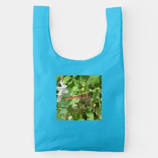 Common Darter Dragonfly Reusable Bag