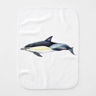 Common dolphin Delphinus delphis Burp Cloth