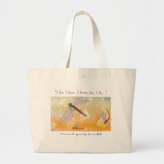 """Common Dragons"" tote"