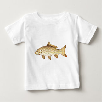 Common Golden Carp Vector Art Baby T-Shirt