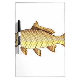 Common Golden Carp Vector Art Dry-Erase Whiteboards