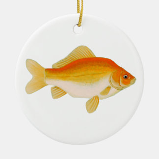 Common Goldfish Ceramic Ornament