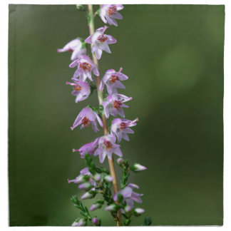 Common Heather (Calluna vulgaris) Cloth Napkin