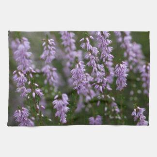Common Heather (Calluna vulgaris) Hand Towels