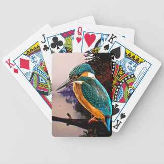 Common Kingfisher Bicycle Playing Cards