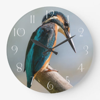 Common Kingfisher Large Clock