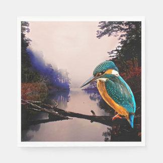 Common Kingfisher Paper Napkin