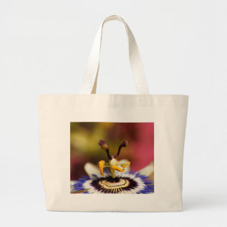 Common passion flower (Passiflora caerulea) Large Tote Bag