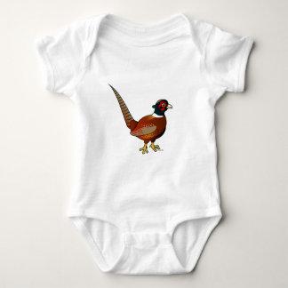 Common Pheasant Baby Bodysuit