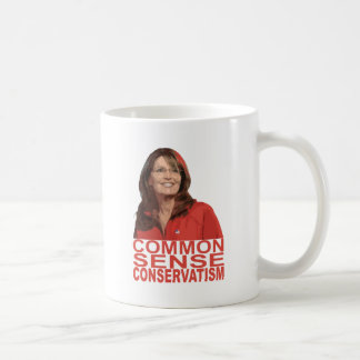 Common Sense Conservatism Coffee Mug