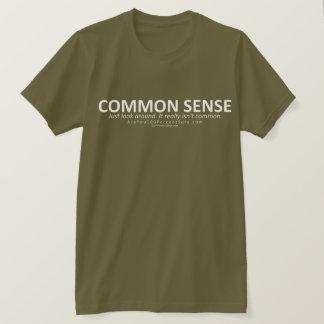 Common Sense (for dark bg) T-Shirt