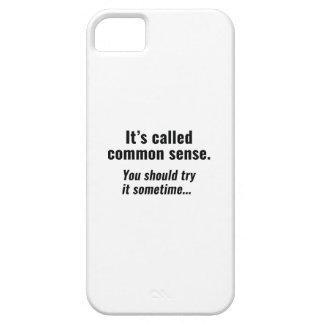 Common Sense iPhone 5 Case