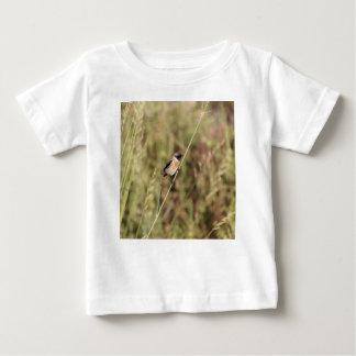 Common Stonechat (Saxicola torquatus) Baby T-Shirt