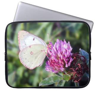 Common Sulphur Butterfly Neoprene Laptop Sleeve