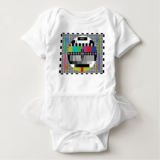 Common Test the PAL TV Baby Bodysuit